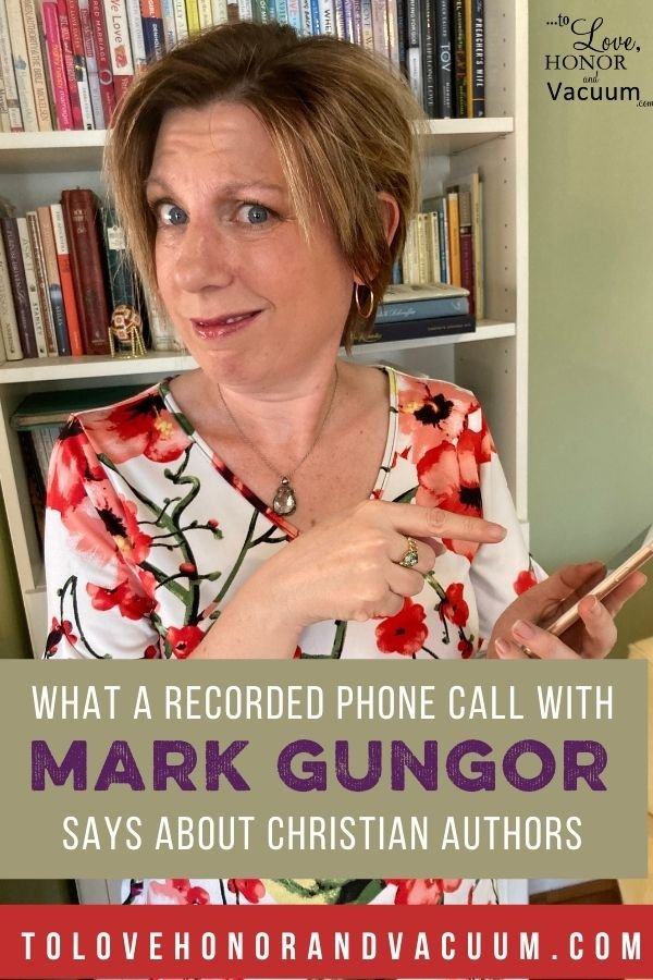 Mark Gungor Audio - On Mark Gungor, a Revealing Recording, and the Authors Talking about Me