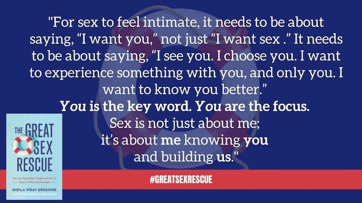 GSR I Want You Quote - 8 Ways to Improve Sex for International Lovemaking Day!