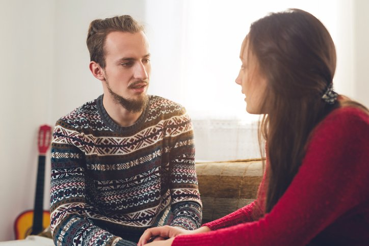 Couple Talking - DIRECT COMMUNICATION Series: Why Is It So Hard to Say What You Want