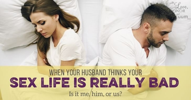 Reader Question: My Husband Doesn't Think our Sex Life is Good Enough!